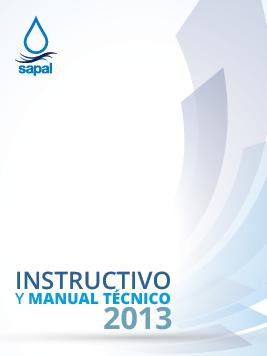 Instructivo manual y técnico 2013