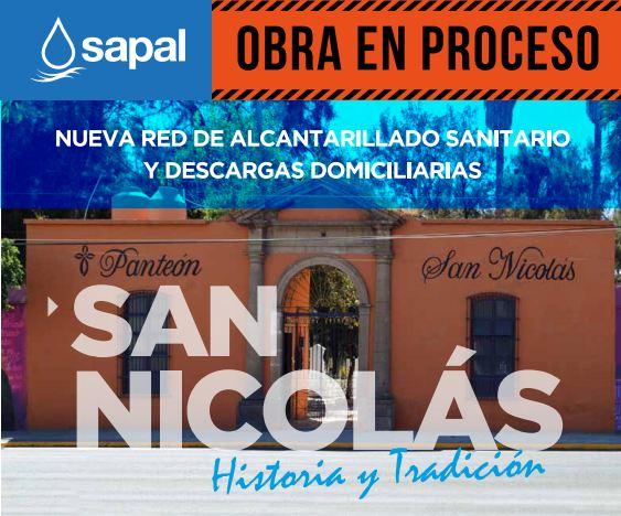 Nueva red de alcantarillado en San Nicolás