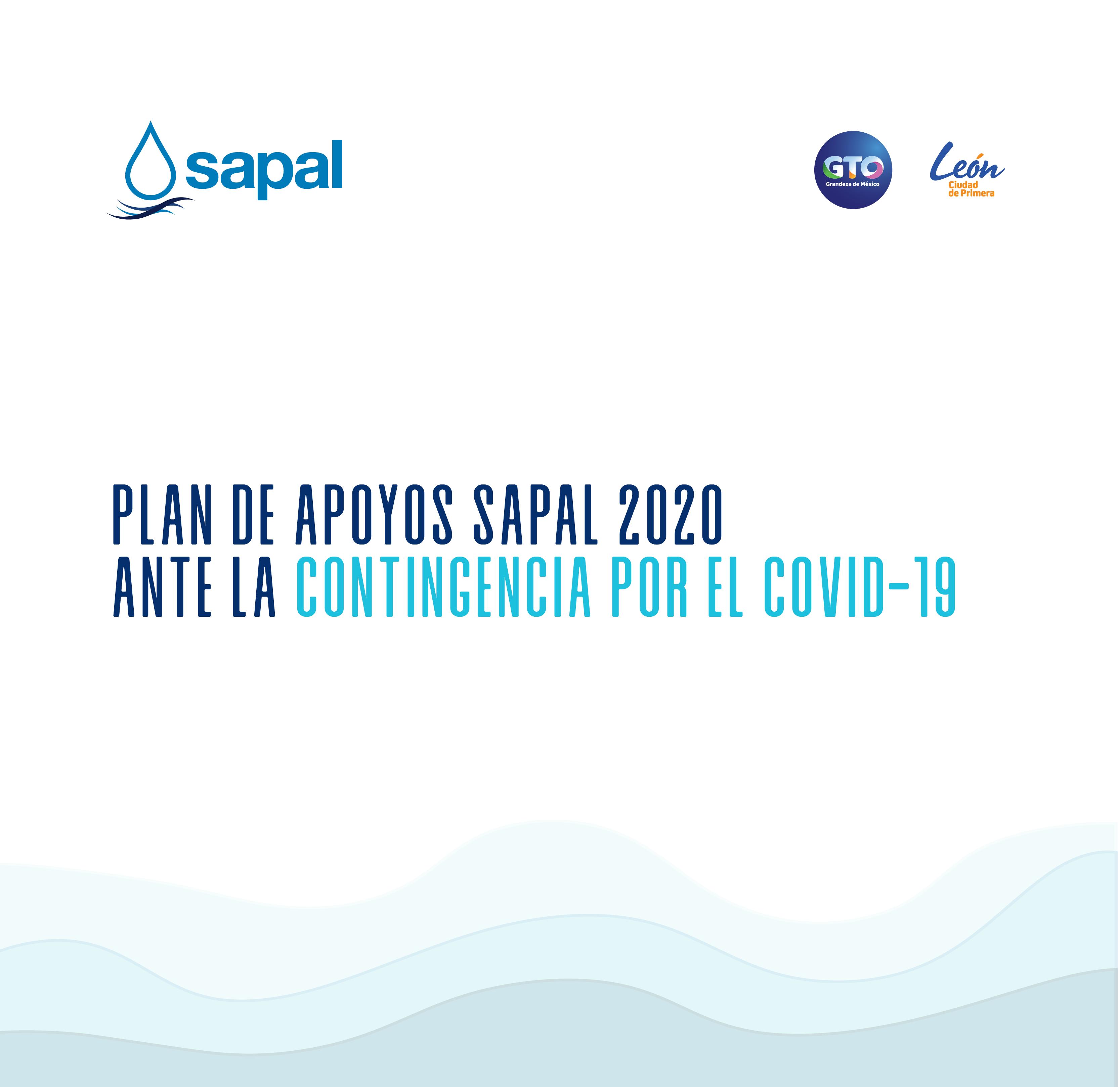 Plan de Apoyos Sapal 2020  ante la contingencia por el Covid-19